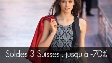 Soyez glamour et chic gr ce aux soldes 3 suisses jusque 70 - Grande taille 3 suisses ...