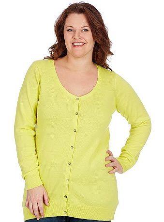 On réveille sa tenue avec un gilet dans les tons pastel fluorés disponible  chez Kiabi.com jusqu au 58 60 - 14 71e2c5e4ad8