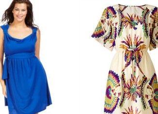 Robe grande taille - Quelle robe porter quand on a des hanches ...