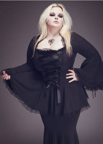 Vêtements En Grande Taille Gothiques Trouver Up Et Où Des Pin QBrCoedxW