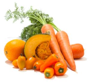 betâ-carotene aliments