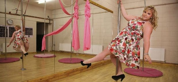 accepter son corps pole dance