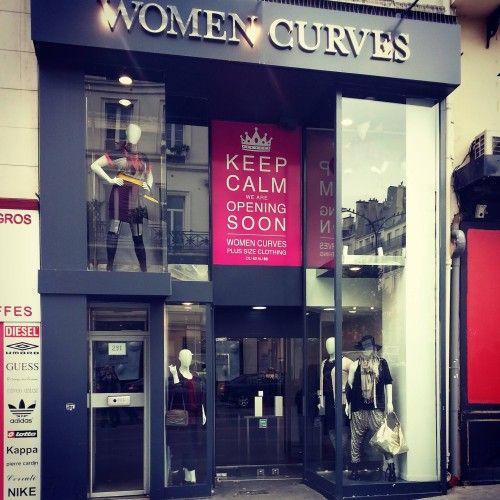 exclu les premi res images du concept store women curves. Black Bedroom Furniture Sets. Home Design Ideas