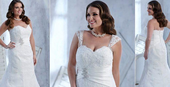 Robe de mari e grande taille boutique pour les rondes for Robes formelles plus la taille pour les mariages
