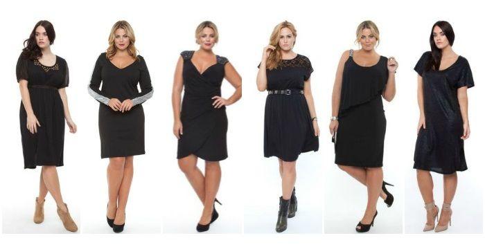 magasin en ligne cf692 c2601 Top 10 de la petite robe noire grande taille