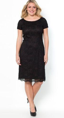 robes de mode robe noire en dentelle grande taille. Black Bedroom Furniture Sets. Home Design Ideas