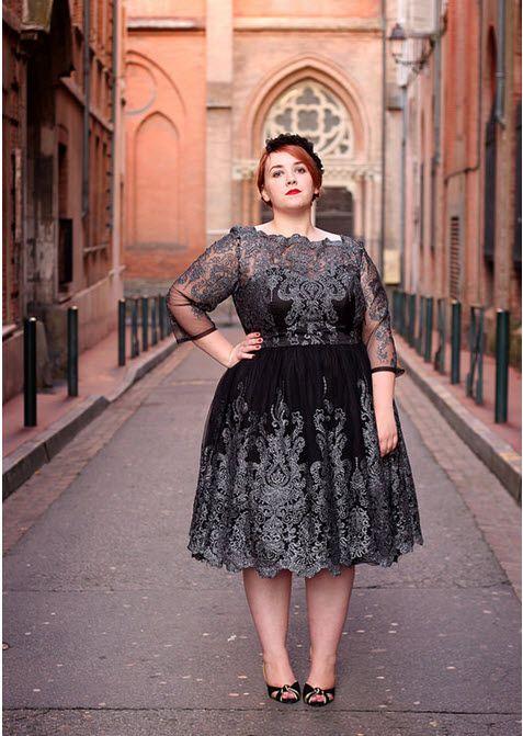 robe grande taille dentelle (3) 35d2479a2870