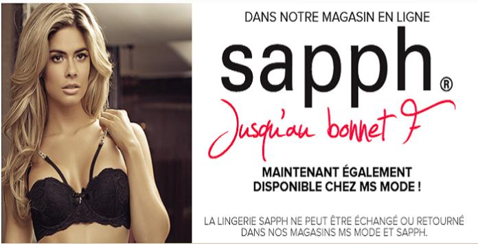 Ms Mode Lance La Lingerie Grande Taille Sapph