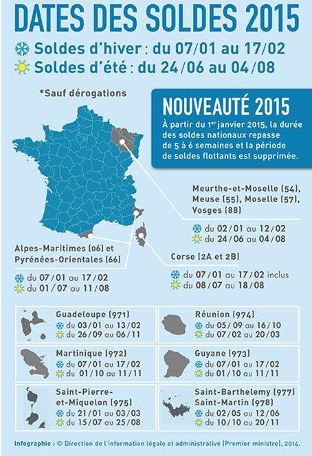 Date des soldes hiver 2015 tout ce qu 39 il faut savoir - Dates des soldes janvier 2015 ...