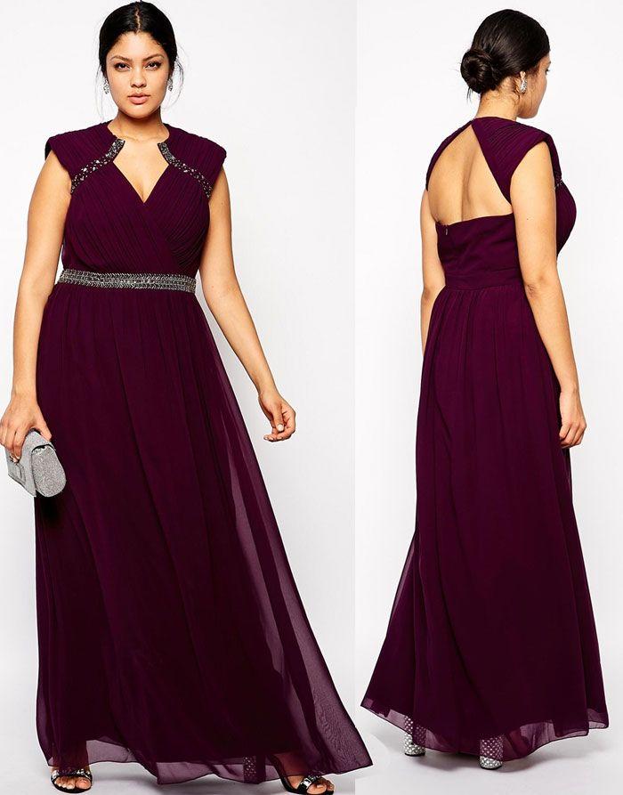 O trouver sa robe de soir e grande taille pour les f tes for Quoi porter sur une robe maxi pour un mariage