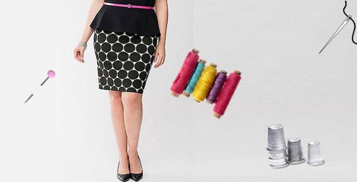 jupes courtes grande taille. Black Bedroom Furniture Sets. Home Design Ideas