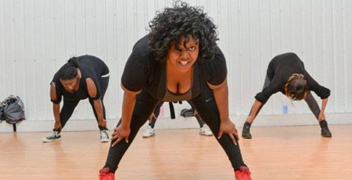 Obèse et coach : les femmes rondes font du sport