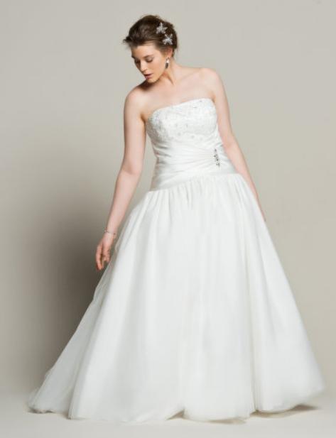 54604b43b50  1 Une robe de mariée grande taille chez Navabi Mariage