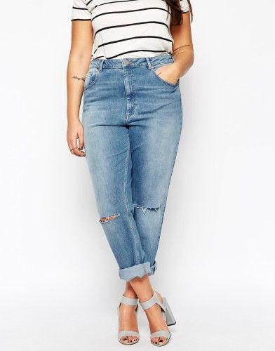 1523fa7381f2d Dites oui au jean boyfriend grande taille