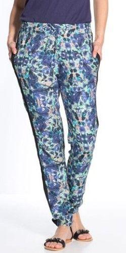 pantalon fleuri daxon