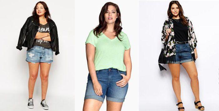 Mode : on ose le short en jean grande taille ?