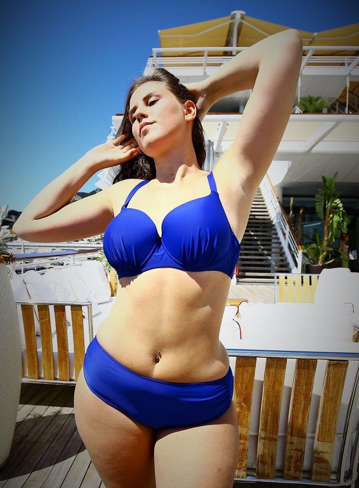 bikini bleu ethique