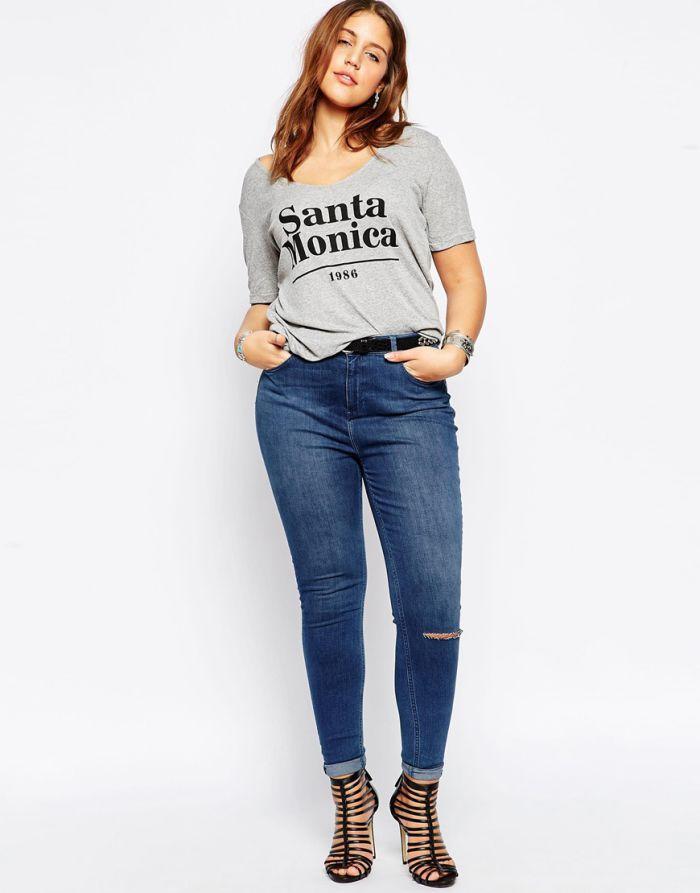 jean grande taille asos