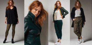 quatre tenues verte tendance de la rentrée 2015 de castaluna by la redoute