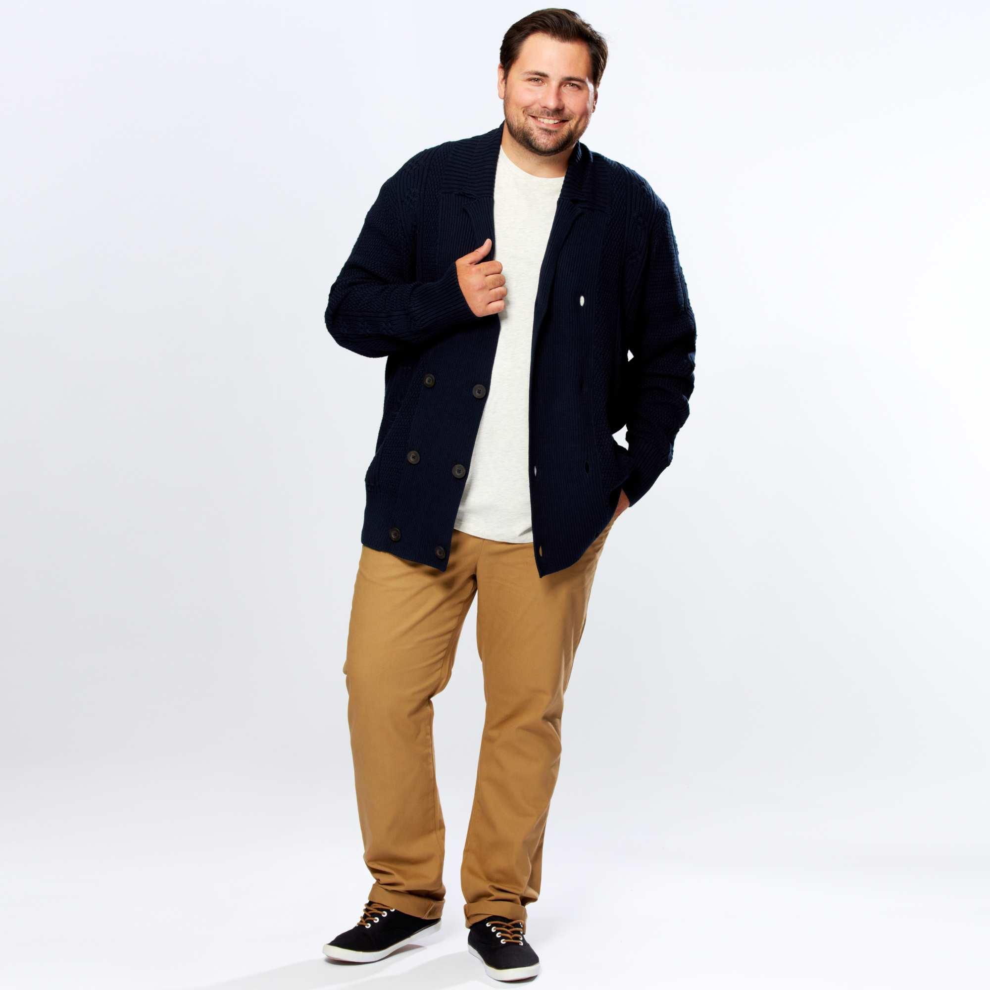 08ad3b3bb62bd8 Vêtements grande taille homme : tendances automne 2015/2016