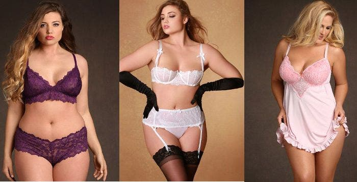lingerie sexy ronde