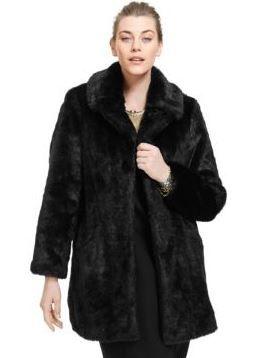 Veste hiver femme ronde