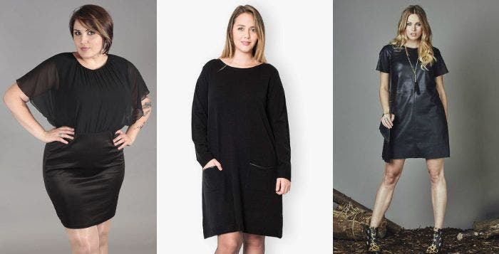 Ma robe noire grande taille de l 39 automne 2015 - Taille des rosiers automne ...