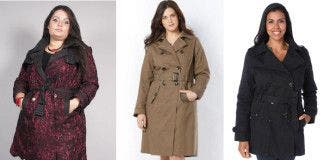 3 trenchs coat grande taille