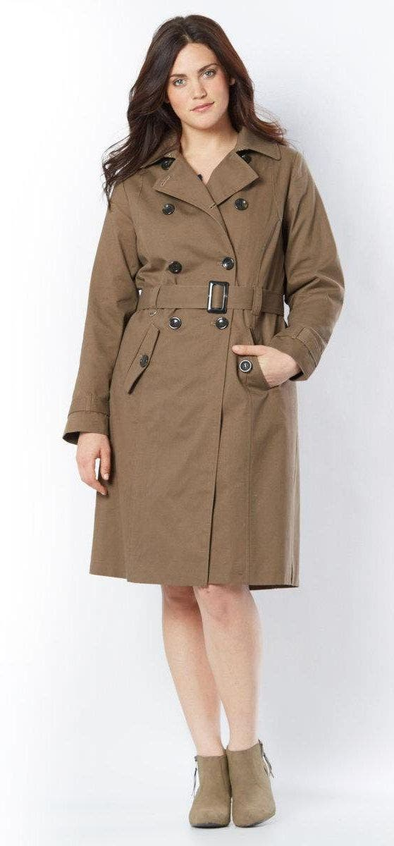 c153df0938398 10 trench coats grande taille jusqu'en taille 66