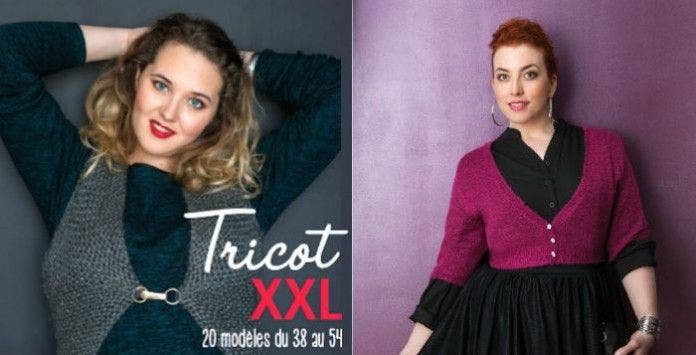 modele tricot pull grande taille