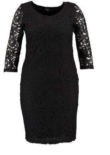 robe noire grande taille notre top 12 pour l 39 hiver 2016. Black Bedroom Furniture Sets. Home Design Ideas