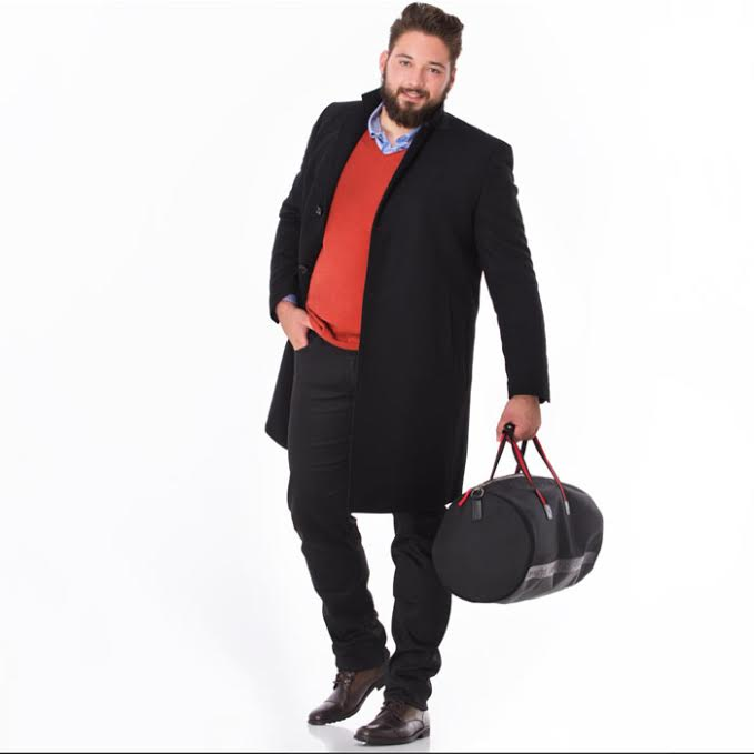 Mode grande taille: les mannequins hommes Look-sporty-chic-grande-taille-homme