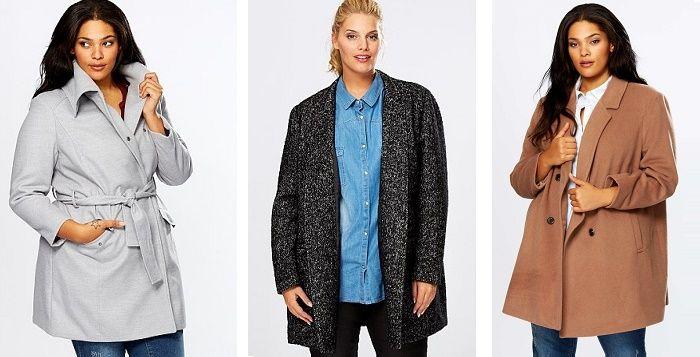 Quel style de manteau pour femme ronde