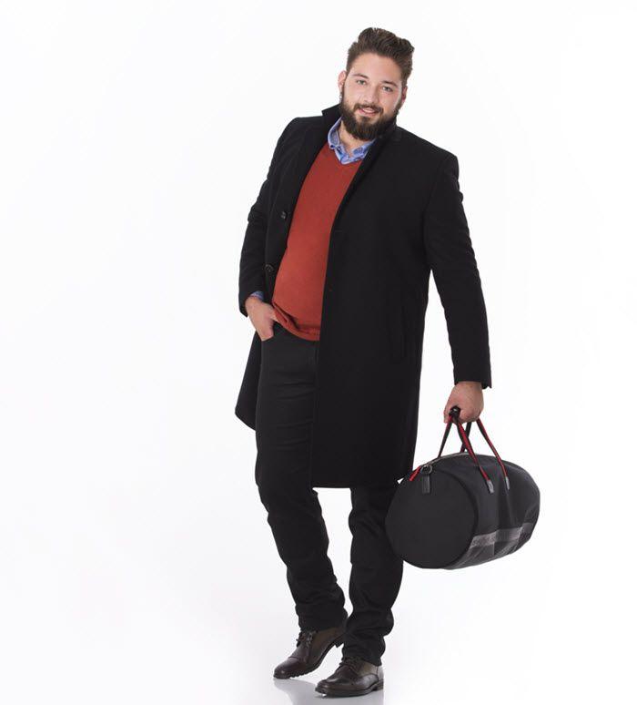5 manteaux grande taille homme pour 5 looks. Black Bedroom Furniture Sets. Home Design Ideas