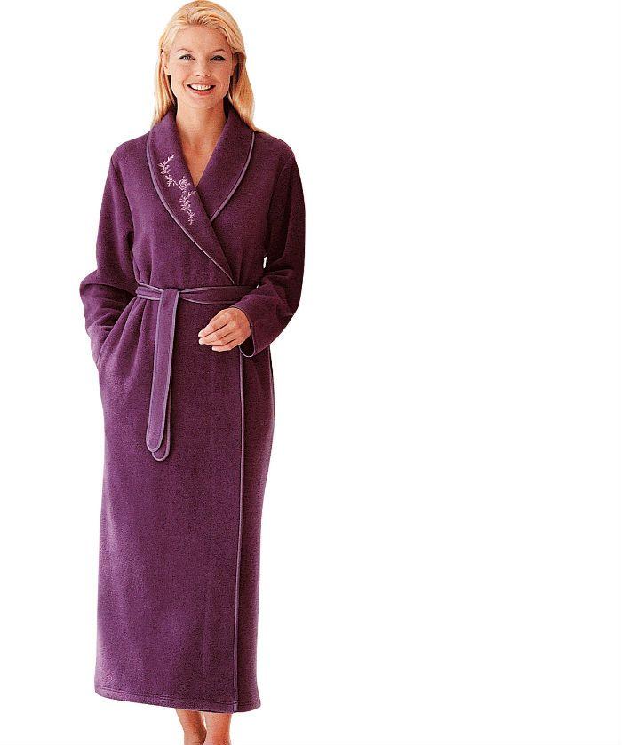 peignoir et robe de chambre grande taille : notre top 10
