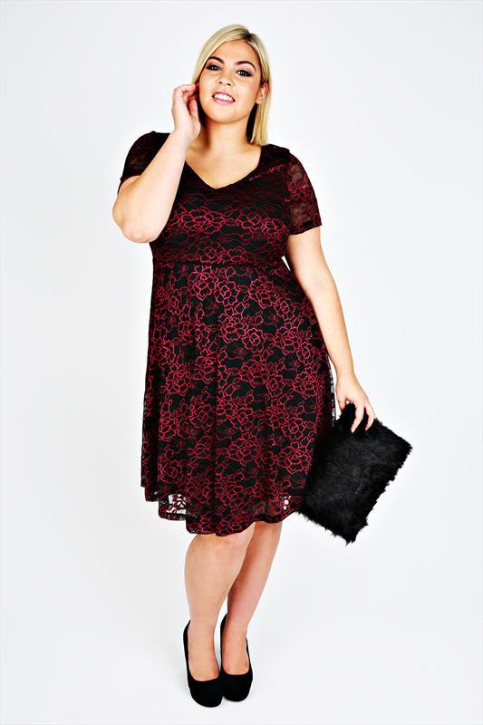 7 robes grande taille sold es moins de 30 - Robe d hotesse grande taille ...