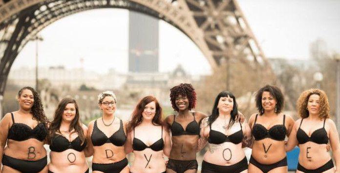 #bodylove : poser en lingerie à Paris pour la diversité