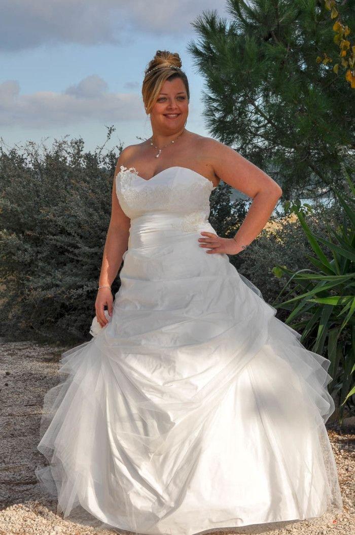 robes de mari e grande taille 2016 dites oui