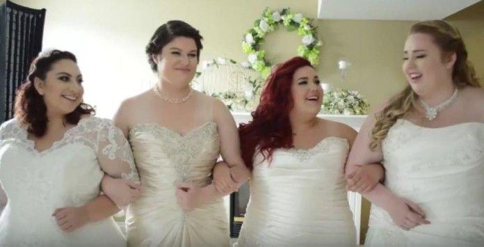 Robe de mariée ronde : les plus beaux clichés