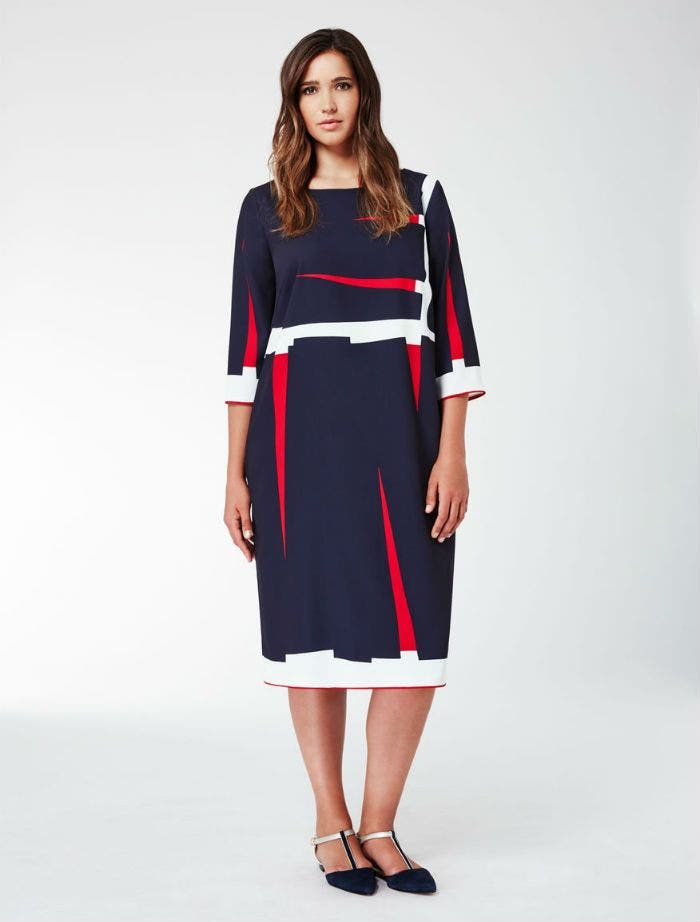 Robe bleu blanc rouge ete 2018