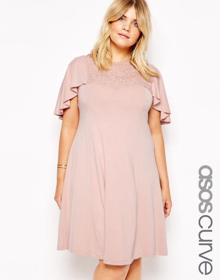 13 robes d 39 t grande taille avec une petite manche - Robe d hotesse grande taille ...