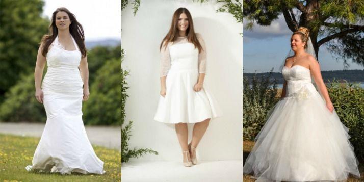 Top 20 des robes de mariée grande taille 2016