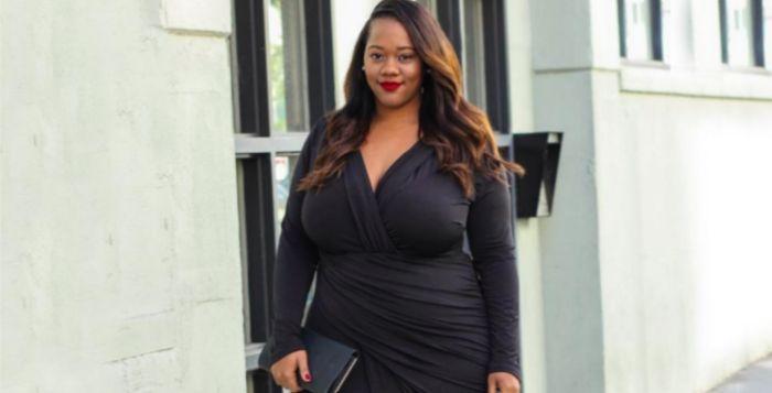 Top 15 des rondes en petite robe noire grande taille for Robes violettes plus la taille pour les mariages