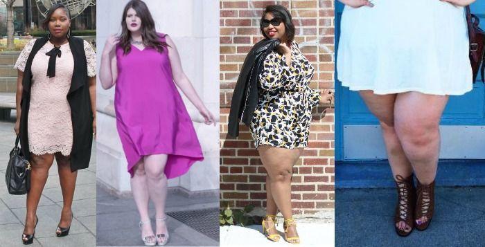 10 photos glamour de femmes rondes qui osent montrer leurs jambes. Black Bedroom Furniture Sets. Home Design Ideas