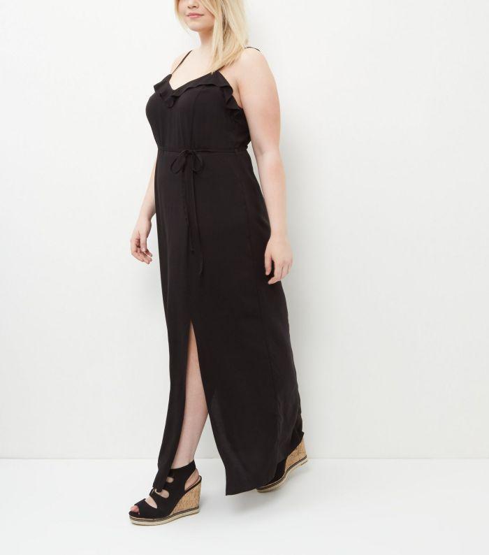 maxidress la robe longue grande taille en 10 styles. Black Bedroom Furniture Sets. Home Design Ideas