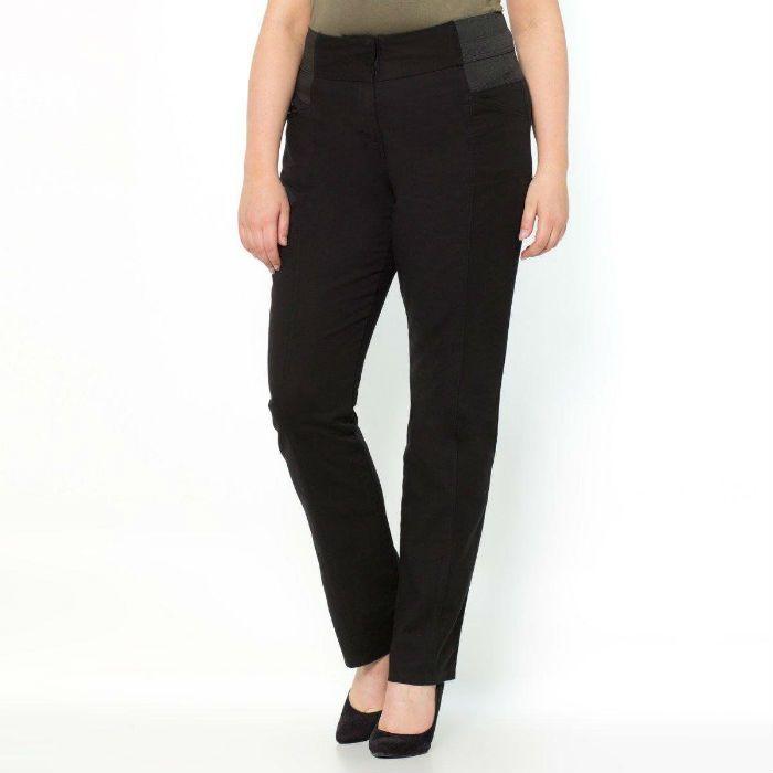 pantalon droit astucieux noir castaluna
