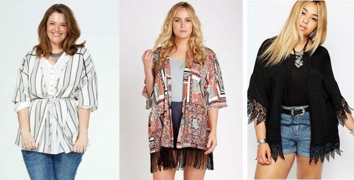 kimono grande taille   la veste id u00e9ale pour l u0026 39  u00e9t u00e9 2016