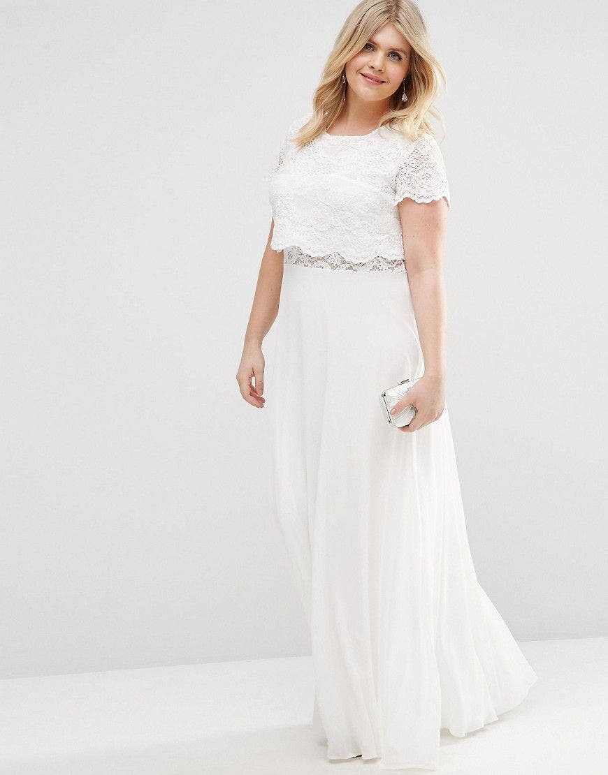 Robe longue grande taille pour mariage for Robes longues pour mariage