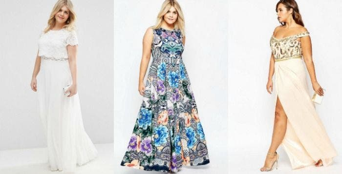 robe longue grande taille habillee 1 | Robe longue habillée