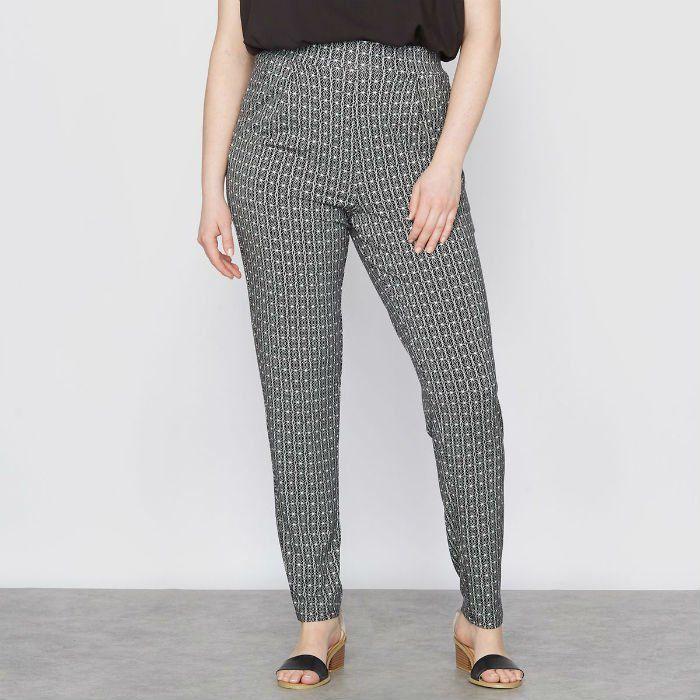 pantalons elastique grande taille. Black Bedroom Furniture Sets. Home Design Ideas